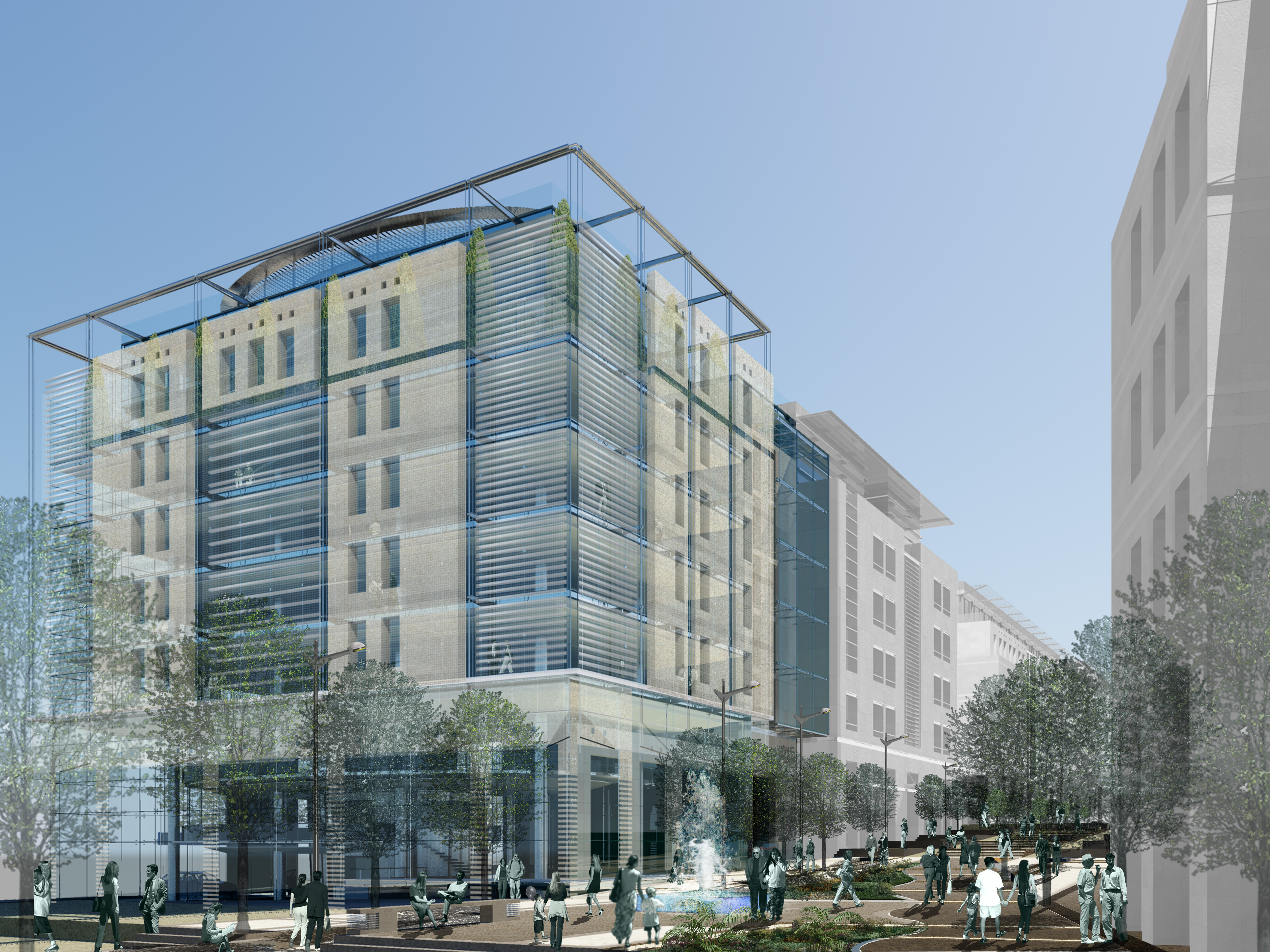 3 to the power of 10 - Alabdali commercial building - Laceco - Suleiman Alhadidi